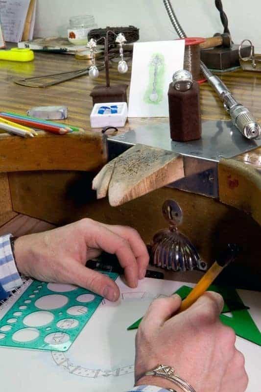 CIO Joyeros - Diseño de pieza de alta joyería modular Franco Da Vinci - Sevilla